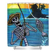 The Dead Sea  Shower Curtain