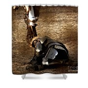 The Death Of Colgrin Shower Curtain