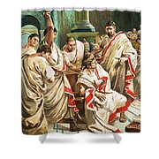 The Death Of Julius Caesar  Shower Curtain