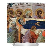 The Death Of Mary Fragment 1311 Shower Curtain