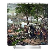 The Death Of Stonewall Jackson Shower Curtain