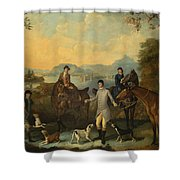 The Death Of The Hare Shower Curtain