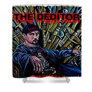 The Deditor Shower Curtain