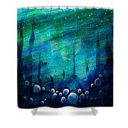 The Deep Places Shower Curtain
