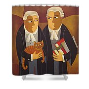 The Defendant Shower Curtain
