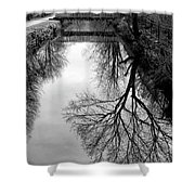 The Delaware And Raritan Canal Shower Curtain