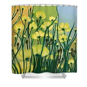 The Delightful Garden Shower Curtain