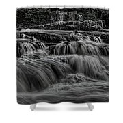 The Dells Of The Eau Claire Panoramic Shower Curtain