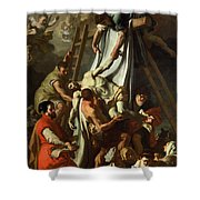 The Deposition Shower Curtain