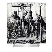 The Descent From The Cross 1475 Shower Curtain