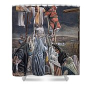The Descent From The Cross Shower Curtain by Tissot