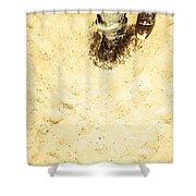 The Desert Wanderer Shower Curtain