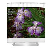 The Dew Of Little Things Shower Curtain