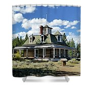 The Dexter Cabin Shower Curtain