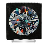 The Diamond Shower Curtain