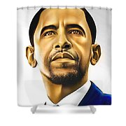The Difference Shower Curtain