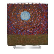 The Difficulty Of Crossing A Field Original Painting Shower Curtain