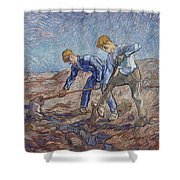The Diggers Shower Curtain