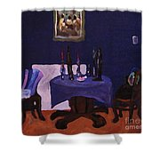 The Dining Room Shower Curtain