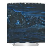 The Discovery Shower Curtain
