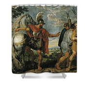 The Dismissal Of The Lictors Shower Curtain