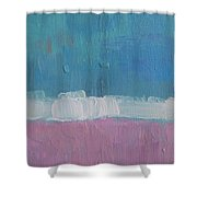 The Divine Field Of Lavender Shower Curtain