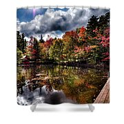 The Dock At The Boathouse Shower Curtain