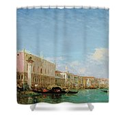 The Dock Of Slaves Shower Curtain