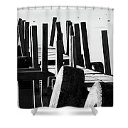 The Dock Shower Curtain