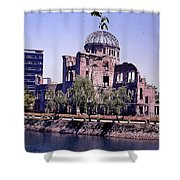 The Dome In Hiroshima Shower Curtain