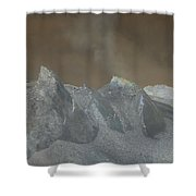 The Dome Of Mt St Helens Shower Curtain