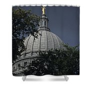 The Dome Of The Capitol Building Shower Curtain
