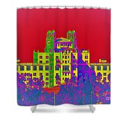 The Don Art Deco Shower Curtain