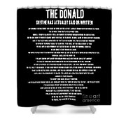 The Donald Shower Curtain