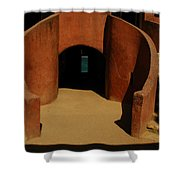 The Door Of No Return On Goree Island Shower Curtain