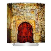 The Door To Alhambra Shower Curtain
