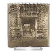 The Doorway First Venice Set Shower Curtain