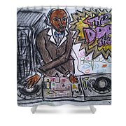 The Dope Show Shower Curtain