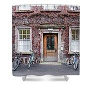 The Dorms At Trinity College Dublin Ireland Shower Curtain