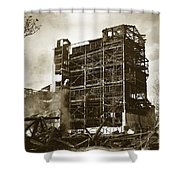 The Dorrance Breaker Wilkes Barre Pa 1983 Shower Curtain