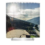 The Douro River Valley Shower Curtain