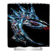 The Dragon In Your Dreams Shower Curtain