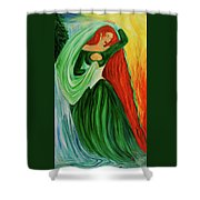 The Dragon Queen Shower Curtain