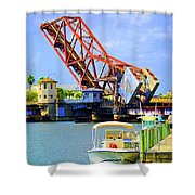 The Drawbridge Shower Curtain