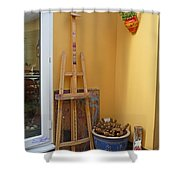 The Drawing Board Shower Curtain