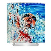 The Dream Becomes Reality Shower Curtain