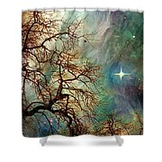 The Dream Oak Triptych Right Panel Shower Curtain