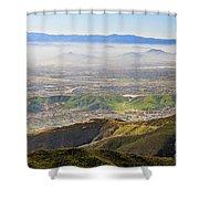 The Dreamy San Bernardino Shower Curtain