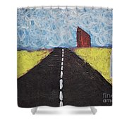 The Drive Shower Curtain