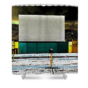 The Drive In Shower Curtain